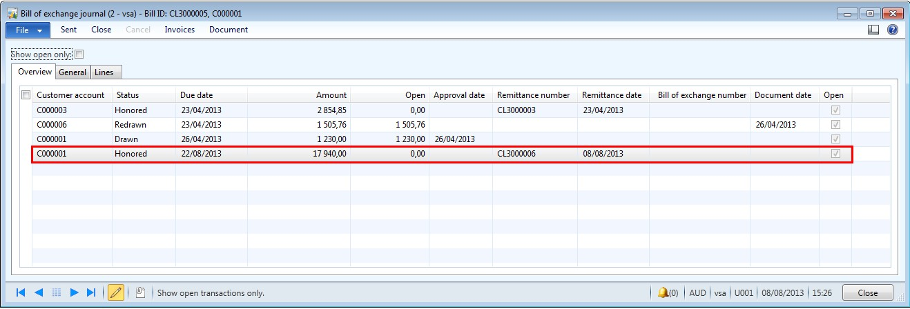 Payables and other payables from exchange transactions